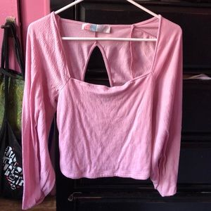Free People Pink blouse